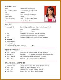 how do you format a resume a format of resume resume template ideas