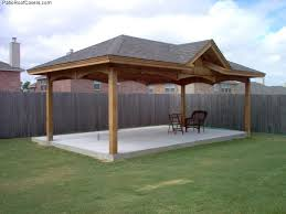 Free Standing Patio Cover Ideas New Hip Roof Patio Cover 48 For Diy Patio Cover Ideas With Hip