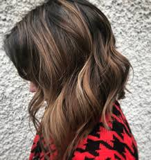 hambre hairstyles ombre on short and long bob hair 2018