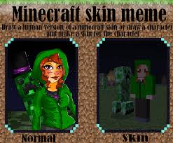 Meme Minecraft - minecraft skin meme by steunk assassin on deviantart