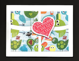 how to make four patch cards tutorial greeting card class aunt
