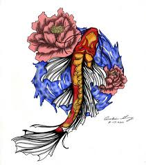 the butterfly koi colored by missanastasia1 on deviantart