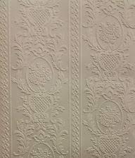 vinyl patterned paintable wallpaper rolls u0026 sheets ebay