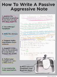 Passive Aggressive Meme - how to write a passive aggressive note weknowmemes