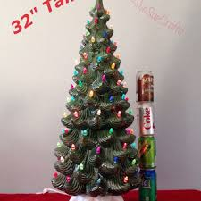beautiful decoration large ceramic tree shop lights on