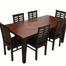 Dining Table And Chairs For 6 Beautiful 6 Seater Dining Table Sets Made In Solid Wood