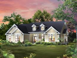 house plans with kitchen in front 4 bedroom 2 bath country house plan alp 09m0 allplans