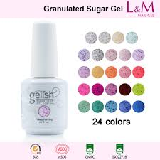 granulated sugar series ido gelish granulated sugar soak off gel