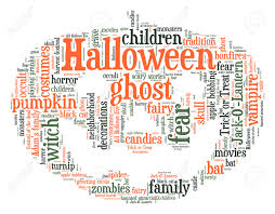 halloween pumpkin word cloud stock photo picture and royalty free