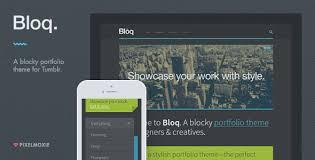 new themes tumblr 2014 bloq a blocky portfolio theme for tumblr by pixelmoxie themeforest