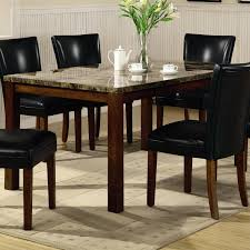 coaster dining room sets coaster telegraph contemporary marble look top dining table