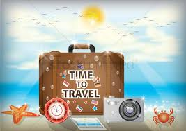 travel wallpaper images Time to travel wallpaper vector image 1619556 stockunlimited jpg