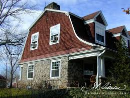 Dormer Roof Design Architecture Awesome Exterior Design With Gambrel Roof And Dormer