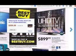 best buy 55 inch tv black friday samsung un55hu6830fxza 4k hdtv black friday 2014 youtube