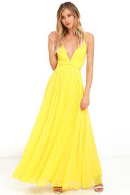 yellow dress lovely yellow dress maxi dress bridesmaid dress formal dress