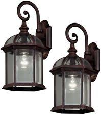 Patio Latern Outdoor Lantern Lights Ebay