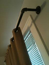 Metal Pipe Curtain Rod 63 Best Pipe Curtain Rods Images On Pinterest Pipe Curtain Rods