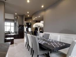 Wainscoting Dining Room Contemporary Dining Room With Limestone Tile Floors Wainscoting