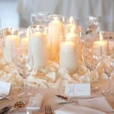 candle centerpieces wedding wedding reception table decorations with candles