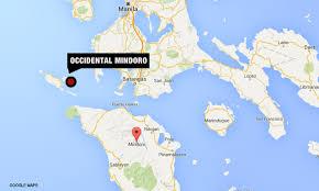 san jose mindoro map 5 4 magnitude quake strikes occidental mindoro cnn philippines