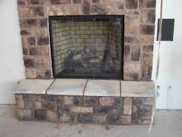 stone fireplace limestone surround wood mantels painting startling