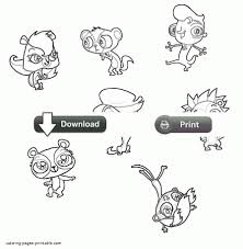 littlest pet shop coloring sheets