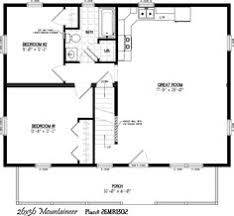 Small Log Cabin Floor Plans With Loft 24 X 36 Cabin Plans With Loft Bing Images Cabin Pinterest