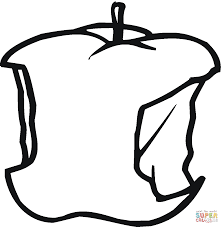 apples coloring pages free coloring pages