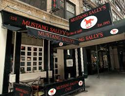 mustang restaurants mustang sally s york city chelsea menu prices