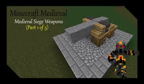 siege canon minecraft siege weapons tutorial part 1 of 5 how to