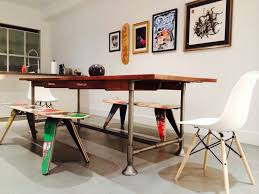 deckstool recycled skateboard furniture recycled skateboard