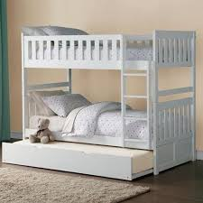 Bunk Beds Factory Homelegance Galen Bunk Bed With Trundle Northeast
