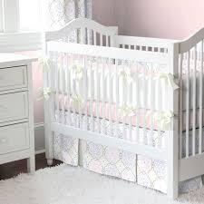 Gray And White Crib Bedding Sets White Crib Bumper Set 12 Photos Baby Crib