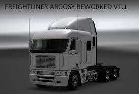 freightliner freightliner argosy reworked truck v 1 1 ats mod american