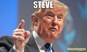 Steve Meme - steve meme donald trump 55074 page 2 memeshappen