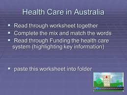 issues in australian health care ppt download