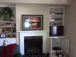 wall mount over fireplace led tv question want to future proof