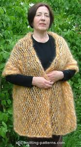 knitting pattern for angora scarf mohair knitting patterns crochet and knit