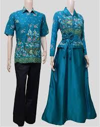 model baju ッ 24 model baju batik muslim modern terbaru dan terpopuler