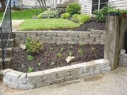 Patio Retaining Wall Ideas Luxurius Garden Retaining Wall Ideas H20 For Interior Home