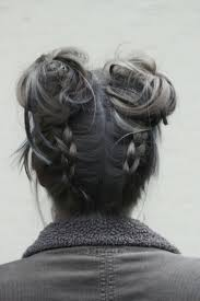 ideas about buns with braids cute hairstyles for girls