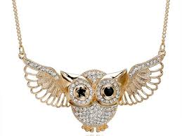 long gold owl necklace images Gold owl pendant by beau arrow notonthehighstreetcom owl gold jpg