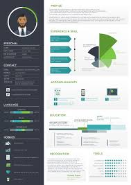 Css Resume Fantastic Infographic Resume 4 1212 Best Images About Infographic