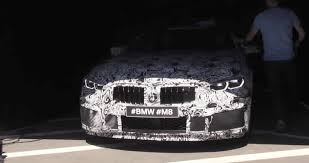 Bmw M8 Specs Bmw Fires Up The M8 And It Sounds Angry