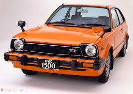 Civic 1980 40 Años De Historia Del Honda Civic