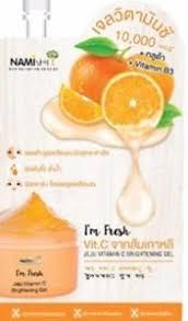 Gluta Fresh nami i m fresh jeju vitamin b3 c gluta brightening gel 30g ebay