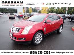 used 2013 cadillac srx used 2013 cadillac srx premium collection for sale in gresham or