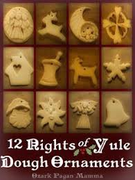 wiccan inspired ornaments made by your s truly me blue brennan