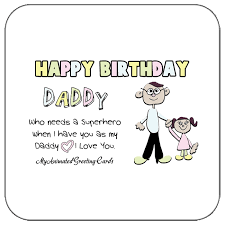 dad wishes my animated greeting cards