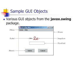 gui swing graphical user interface in java ppt